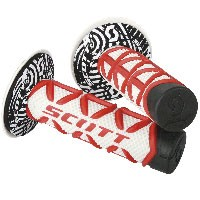 Scott Grips Diamond Red/white