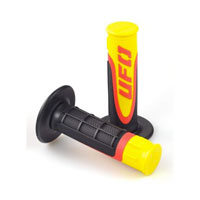 Manopole Ufo Axiom Rubber Triple Density Giallo