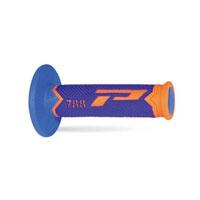Progrip Manopola 788f A Tripla Densità Arancio Fluo Blu Celeste