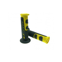 Progrip 725 Double Density Open End Grips Yellow Black