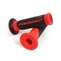 Progrip 732 Double Density Open End Grips Red Black