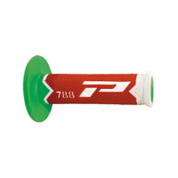 Progrip 788 Triple Density Off Road Grip White Red Green Fluo