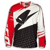 UFO MISTY JERSEY BLACK WHITE RED