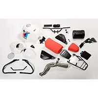 Unit Garage Kit Ninet Pure Paris Dakar Con Accessori