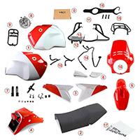Kit Unit Garage 1224 R1200 Gs 2004-2007 Gr86 Rosso
