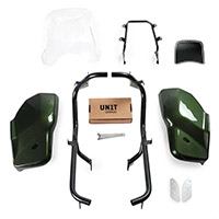 Unit Garage Dual Kit Triumph Scrambler 1200 verde