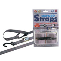OXFORD PAIR OF ADJUSTABLE STRAPS 2M F OR SECURING MOTORCYCLE