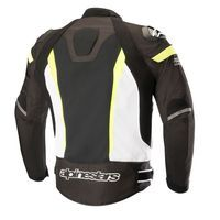 Alpinestars T-missile Air Jacket Tech Air Compatible Black White Fluo Yellow