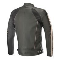 Alpinestars Dyno V2 Leather Jacket Black