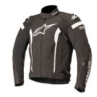 Alpinestars T-missile Drystar Jacket Tech Air Compatible Black White