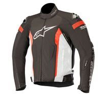 Alpinestars T-missile Drystar Jacket Tech Air Compatible Black White Red