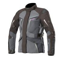 Alpinestars Stella Yaguara Drystar Jacket Tech-Air Compatible Black Dark Gray Mid Gray