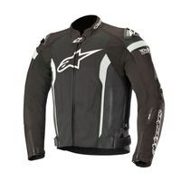 Alpinestars T-missile Air Jacket Tech Air Compatible Black White