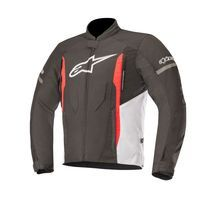Alpinestars T-faster Jacket Black White Red