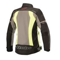 Alpinestars Stella Durango Air Jacket Black Dark Gray Yellow Fluo - 2