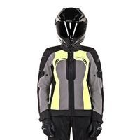 Alpinestars Stella Durango Air Jacket  Black Dark Gray Yellow Fluo - 3