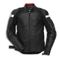 Ducati Dark Armor Giacca In Pelle Traforata Nero