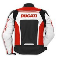 Ducati Corse C2 Giacca In Pelle Traforata Rosso