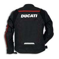 Ducati Corse C2 Giacca In Pelle Traforata Nero