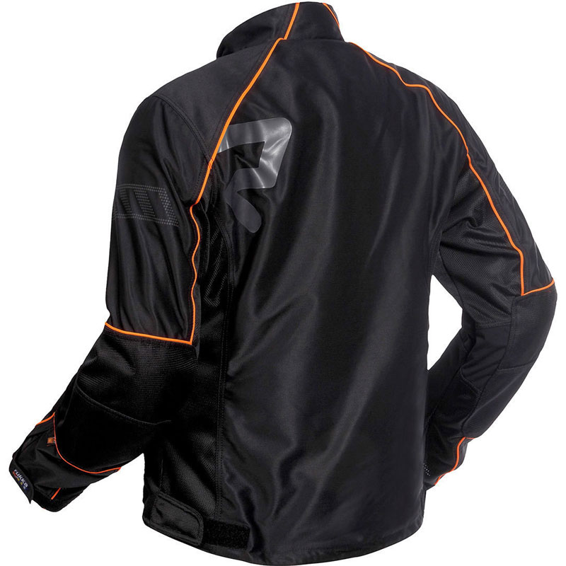 Rukka Airall Jacket Black Orange