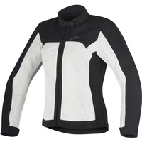 ALPINESTARS STELLA ELOISE AIR ジャケット BLACK/LIGHT GREY