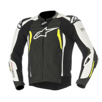 Alpinestars Gp Tech V2 Tech Air Compatible Nero/bianco/giallo Fluo
