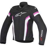 Alpinestars Stella T-gp Plus R V2 Air Nero/bianco/fucsia Donna