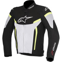 Alpinestars T-gp Plus R V2 Air Nero/bianco/giallo Fluo