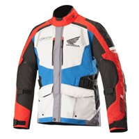 Alpinestars Honda Andes V2 Drystar® Jacket Gray Red Blue