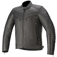 Alpinestars Burstun Leather Jacket Black
