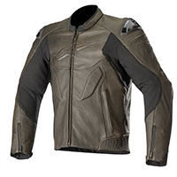 Alpinestars Caliber Leather Jacket Brown