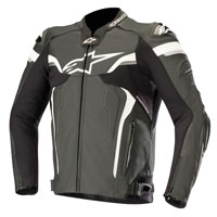 Alpinestars Celer V2 Leather Jacket Black White