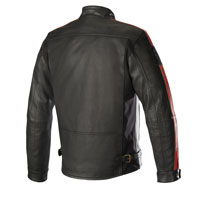 Alpinestars Giacca In Pelle Charlie Tech-air Compatibile