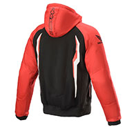 Alpinestars Chrome Sport Hoodie Honda Red