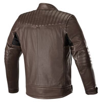 Alpinestars Crazy Eight Lederjacke braun - 2