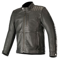 Alpinestars Crazy Eight Lederjacke schwarz