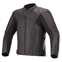 Alpinestars Faster Airflow V2 Leather Jacket Black