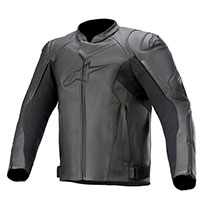 Alpinestars Faster V2 Leather Jacket Black