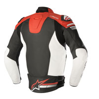 Alpinestars Giacca In Pelle Fuji Airflow Rosso