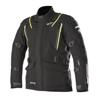 ALPINESTARS BIG SUR GORE-TEX PRO CHAQUETA TECH-AIR COMPATIBLE NEGRO AMARILLO