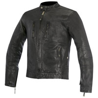 Alpinestars Oscar Brass Leather Jacket