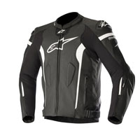 Alpinestars Giacca In Pelle Missile Tech Air Compatibile Nero
