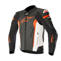Alpinestars Giacca In Pelle Missile Tech Air Compatibile Rosso