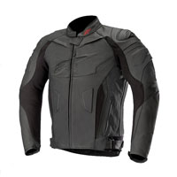 Alpinestars Giacca In Pelle Gp Plus R V2 Nero Nero