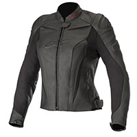 Alpinestars Stella Gp Plus R V2 Leather Jacket Black Lady