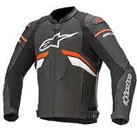 Alpinestars Gp Plus R V3 Leather Jacket White Red
