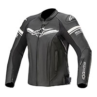 Giacca Pelle Alpinestars Stella Gp-r Tech Air Nero