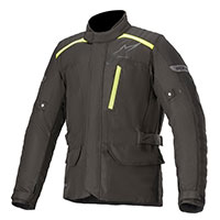 Alpinestars Gravity Drystar Jacket Black Yellow