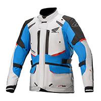 Alpinestars Honda Andes V3 Drystar Jacket Grey Blue