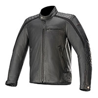 Alpinestars Hoxton V2 Leather Jacket Black